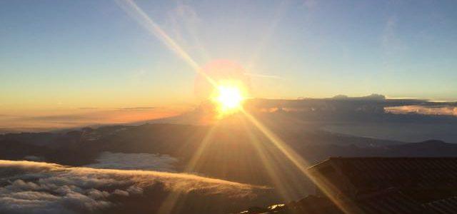 富士山に登頂してきました